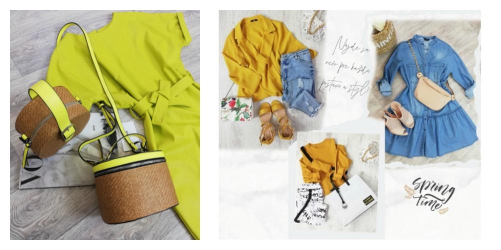 Inšpirácie na jarné outfity z našej ponuky!