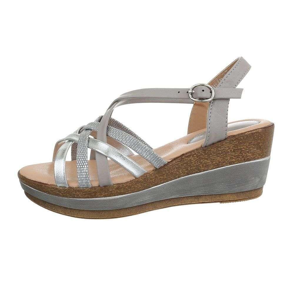 a06e71f0eec4 Pohodlné sandále COCO TOP-3676-grey