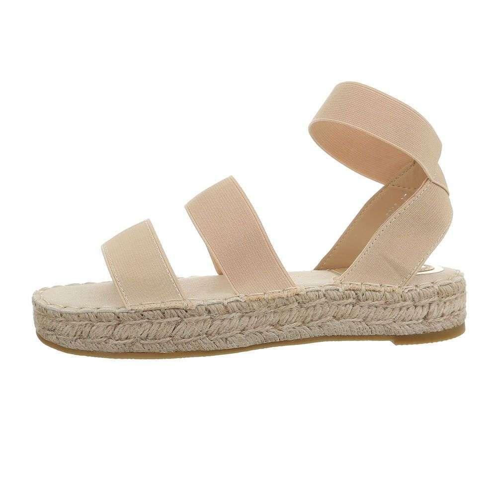 85f55e2122b9 Dámske sandále BELLA TOP-5905-beige