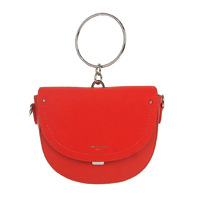 cefde704364c Štýlová crossbody kabelka David Jones CM-5194-red