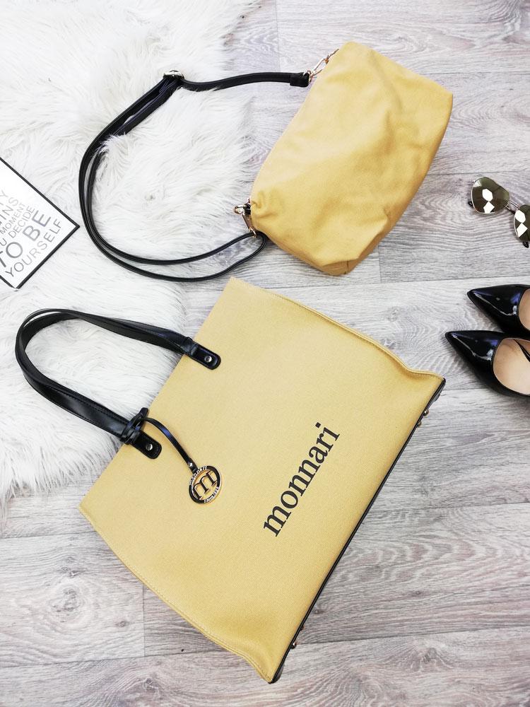 6005c02c77 Shopper kabelka Monnari 2v1 MON-3940-015-beige