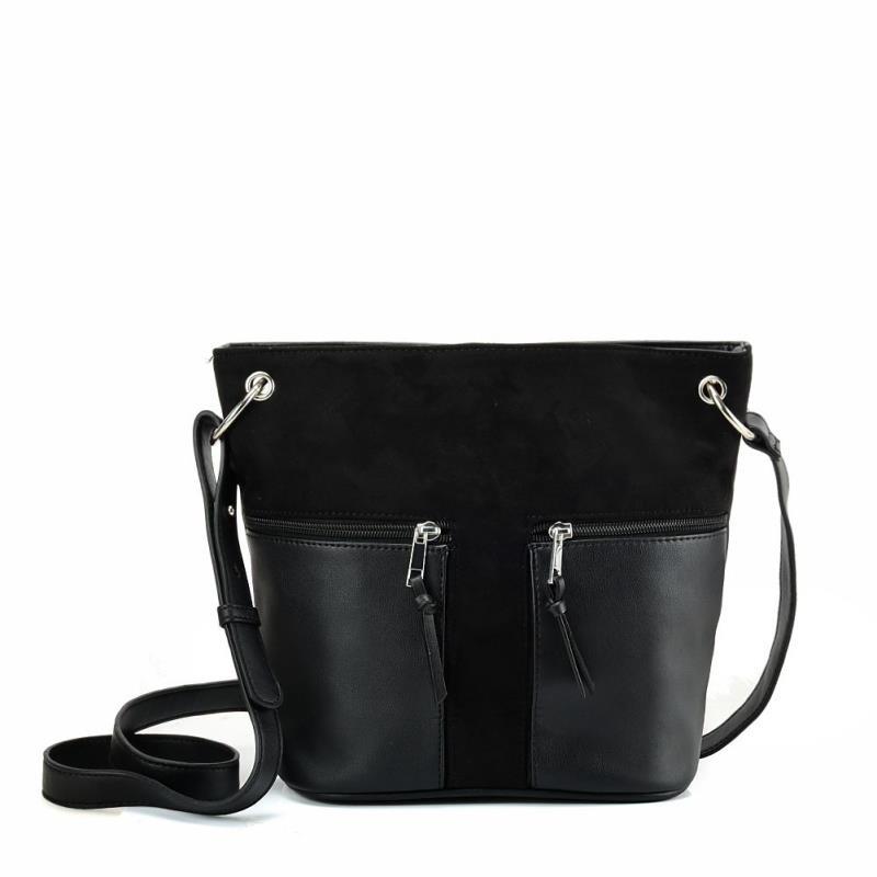 c3abfb3d84 Čierna crossbody kabelka DKO-DP-BAG-black