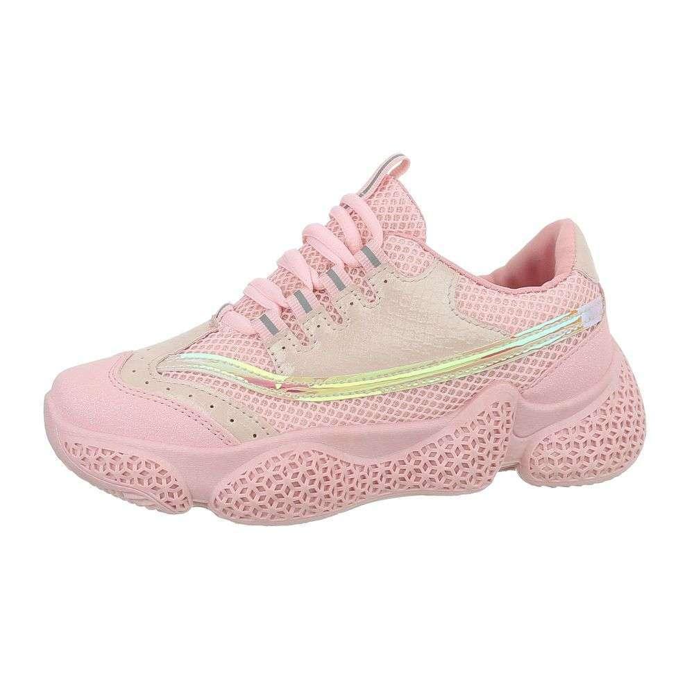 Dámske botasky na hrubej podrážke TOP-G-226-pink bd9f9d8b8f3