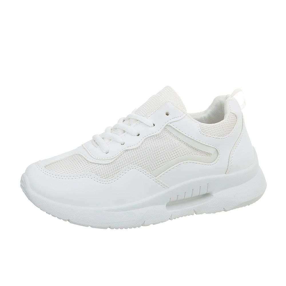 694f813e2 Dámske botasky na hrubej podrážke TOP-K801-1-white