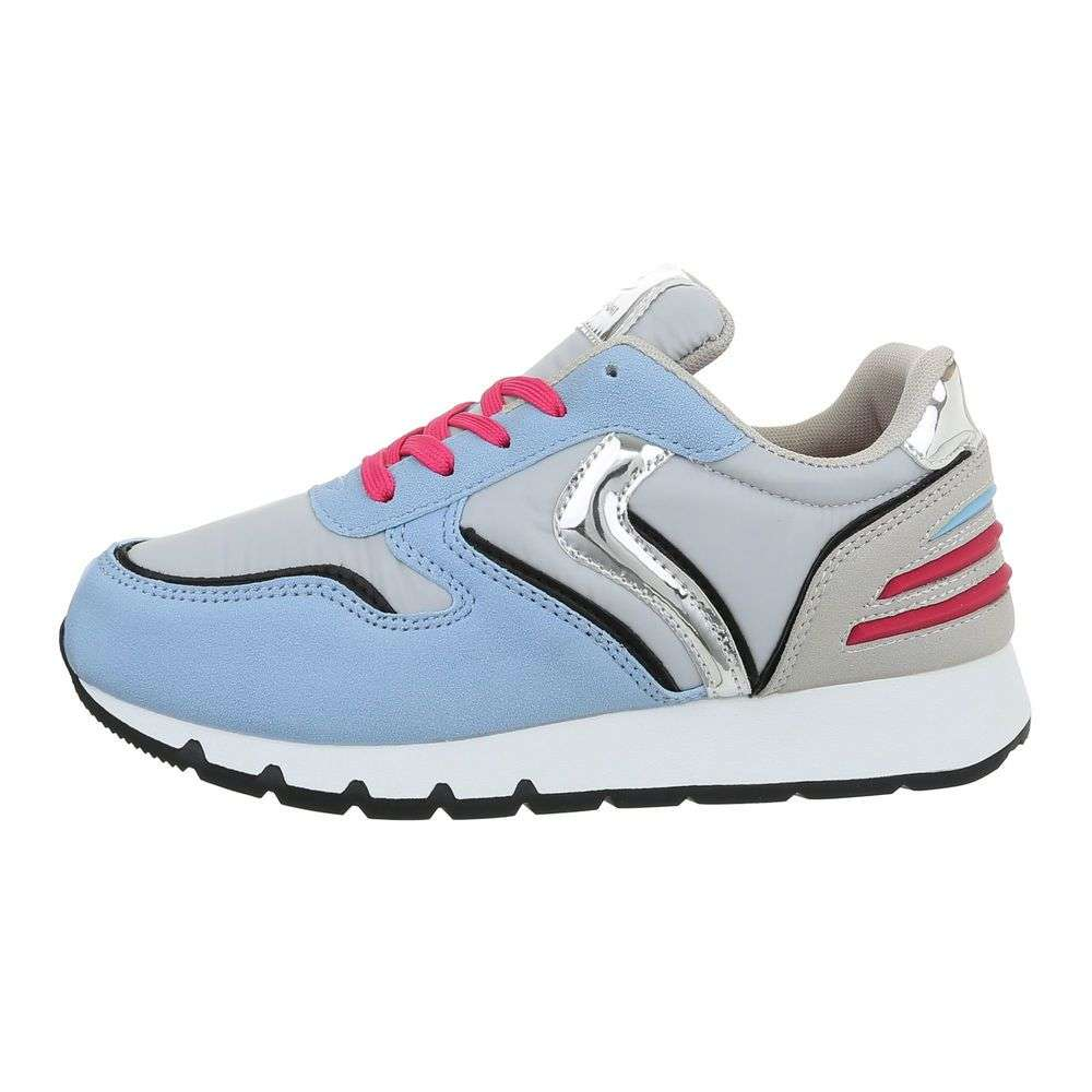8c384f380 Svetlomodré dámske tenisky TOP-M114-blue