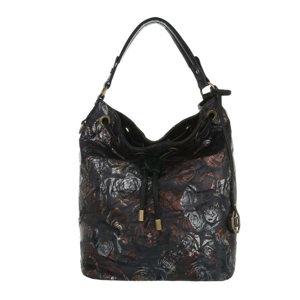 Čierna kabelka na rameno VSGL-2335-354-black 17fe23b5235