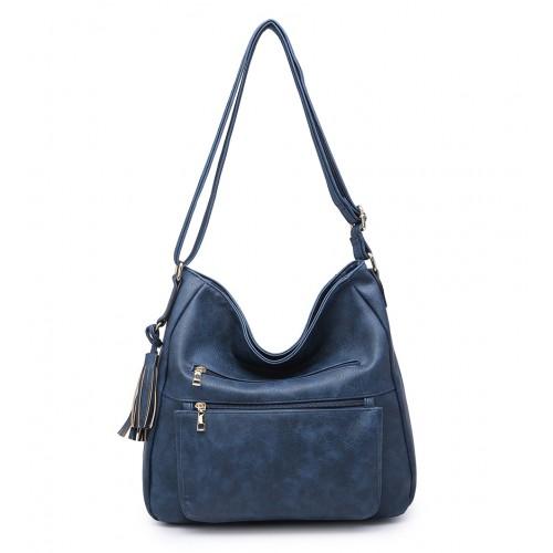 Väčšia rossbody kabelka DKM-9271-d.blue 32ad4df3a37
