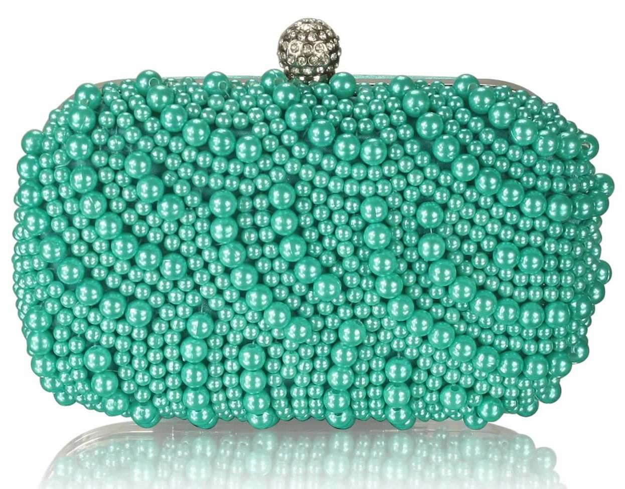 Clutch kabelka Izbella DK00209-emerald f5604200359