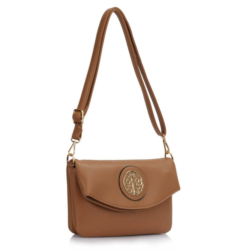 Crossbody kabelka DK00371A-taupe
