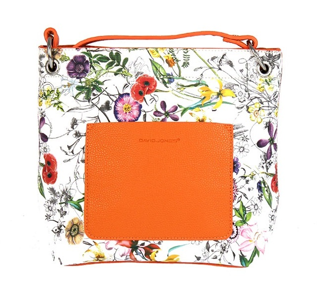 Luxusná crossbody David Jones CM5085-1-orange