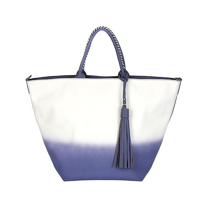 Tónovaný shopper DAVID JONES CM3130-blue