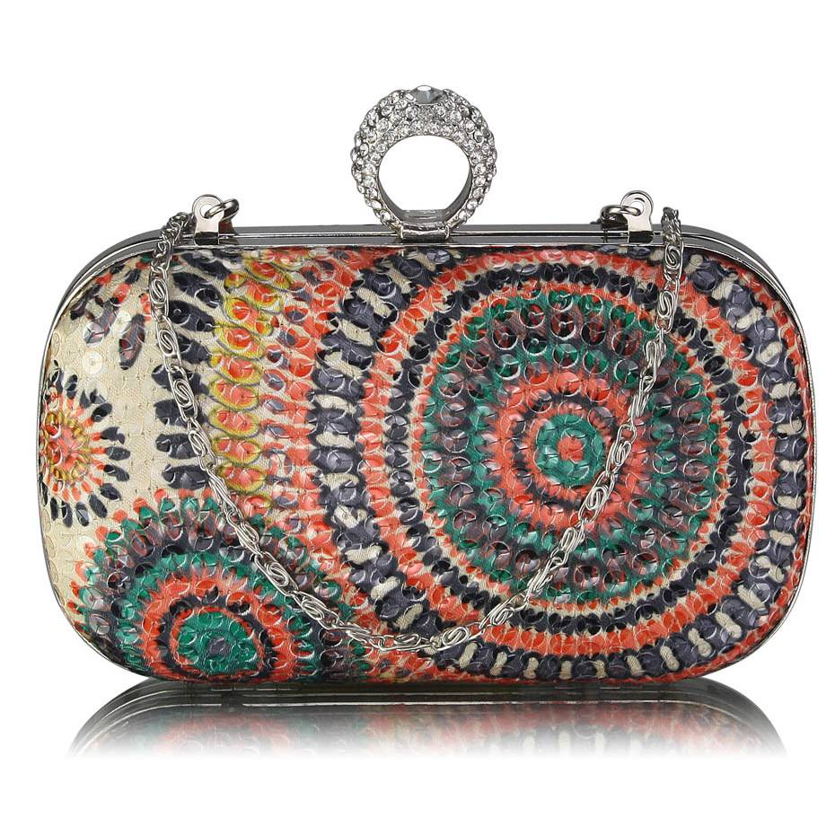 Clutch kabelka COLOR DK00292x-orange