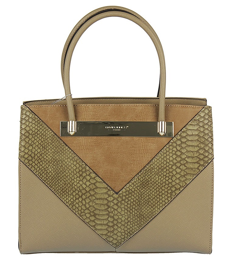 Elegantná kabelka do ruky David Jones CM5222-2-camel