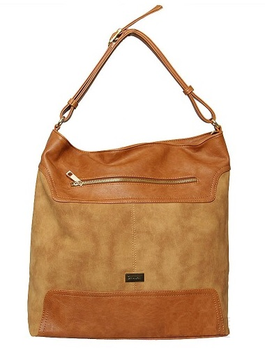 Hnedý shopper na rameno Carla Berry CB-A25-brown