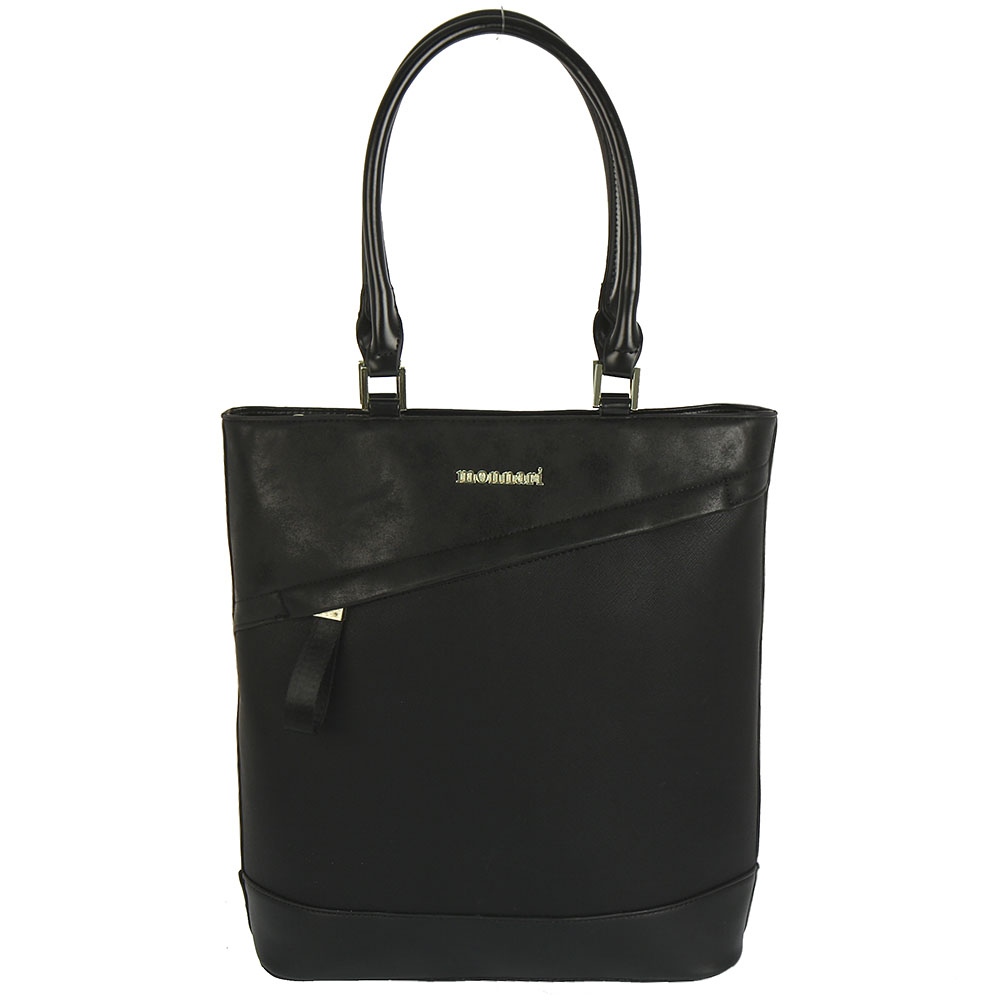 Čierny shopper Monnari MON6780-black