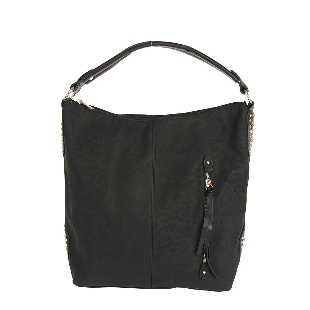 Shopper kabelka na rameno WE-050-black