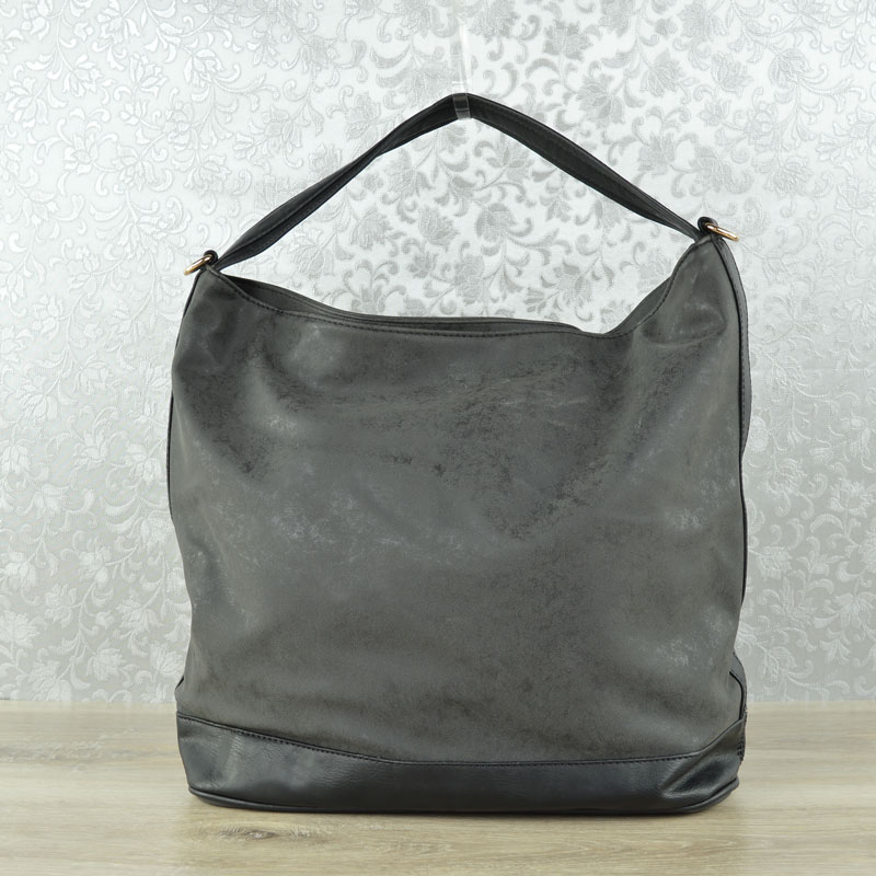 Čierny shopper na rameno WE-KX5357-black
