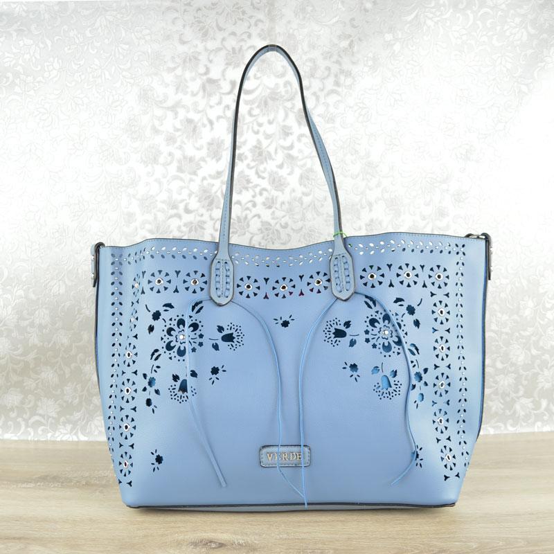 2e0f65079b Vyrezávaná kabelka VERDE VD-16-0004769-blue