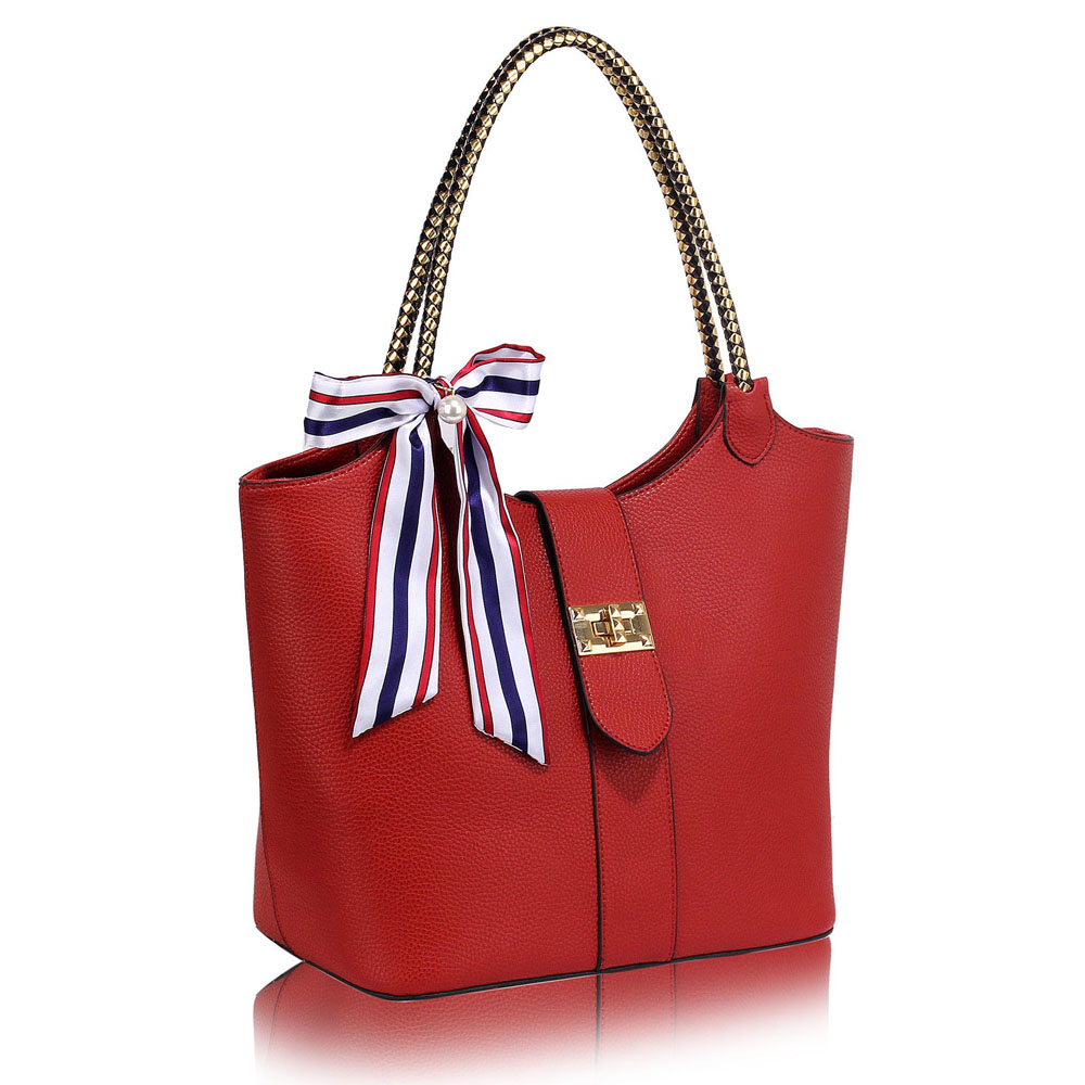 e887bd38a Červená kabelka na rameno DK00278-red