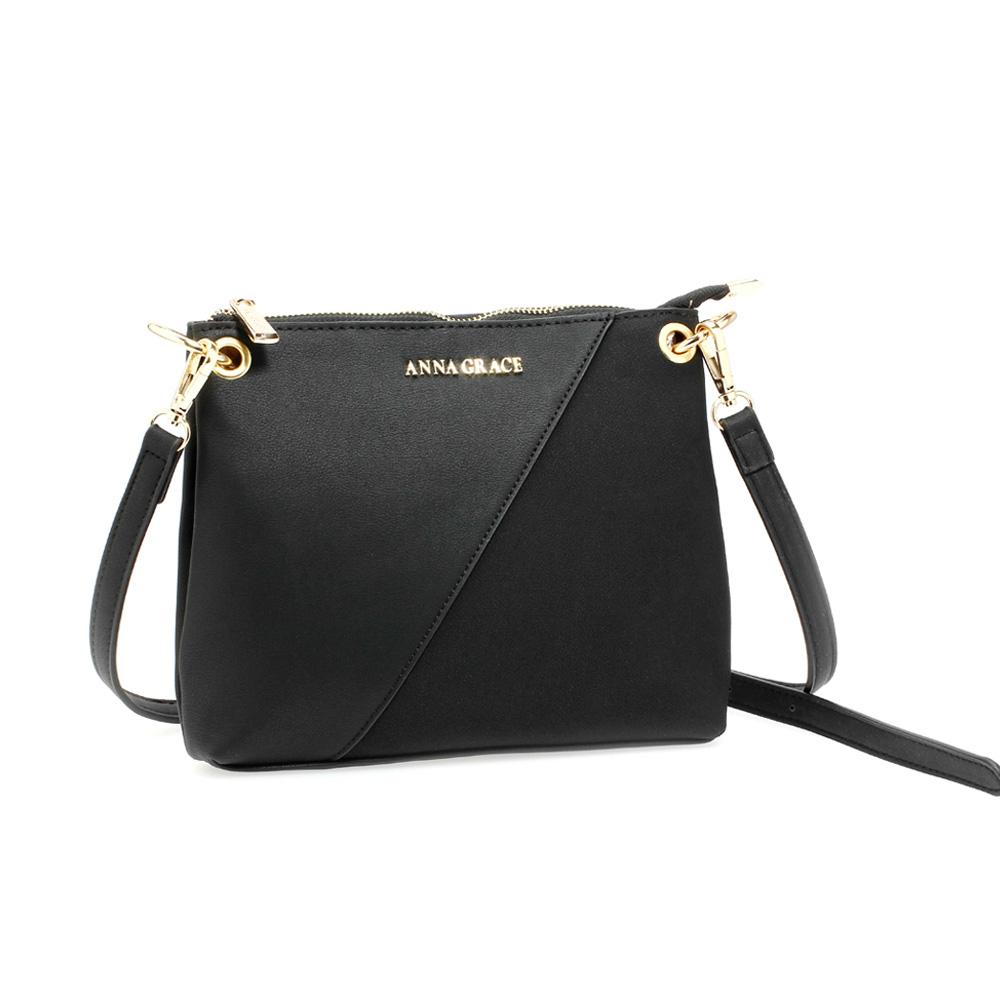 Čierna dámska crossbody kabelka AG00616-black 540aa71031b