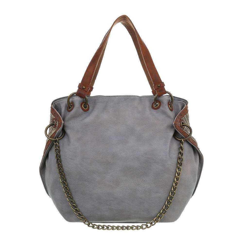 e69d8eb82b Modro-sivá dámska kabelka s retiazkou VSGL-TA-4135-155-grey