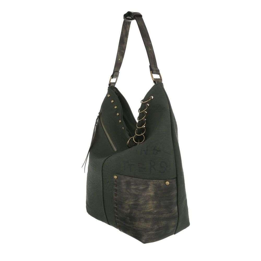 298df0c51 Štýlová kabelka na rameno VSGL-TA-4235-5-green