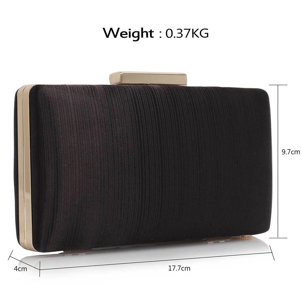 6670cd5f3fbf Luxusná večerná kabelka DK00313x-black