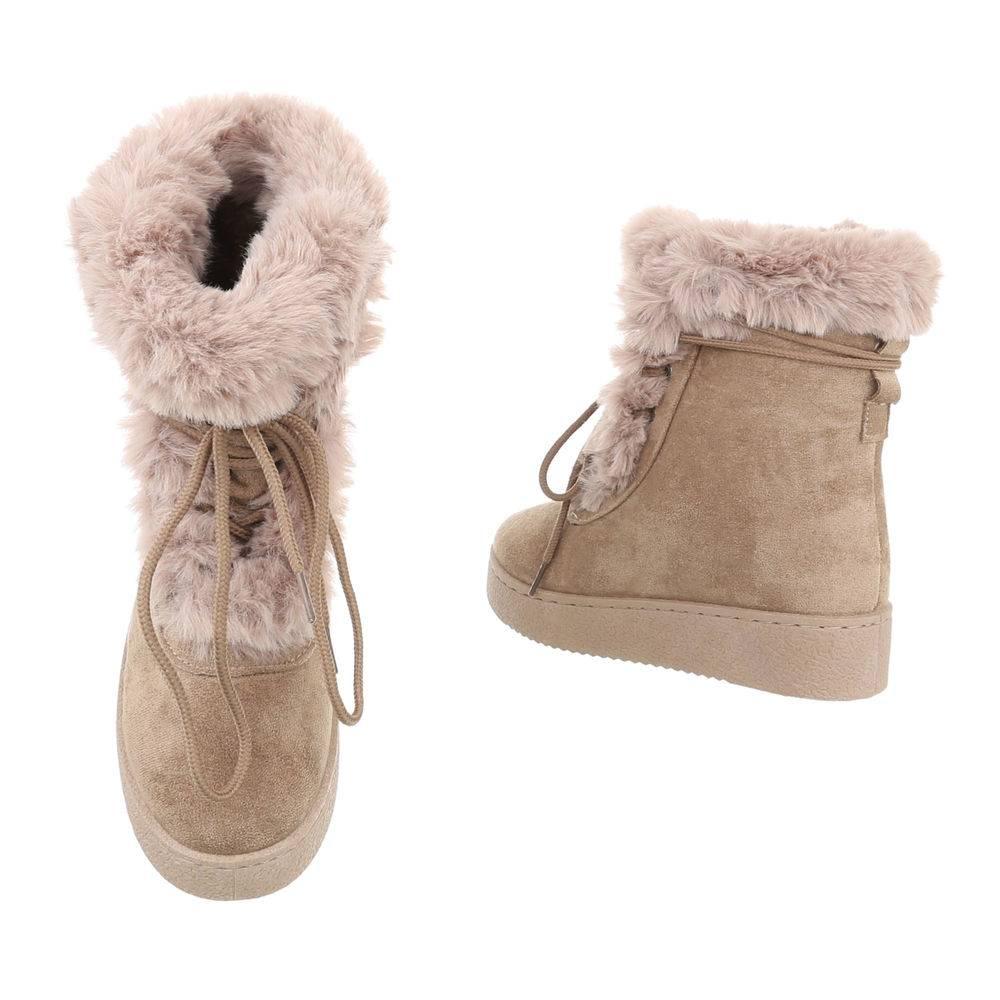 363f417661ba8 Členkové topánky kožušinou TOP-5109-1-khaki