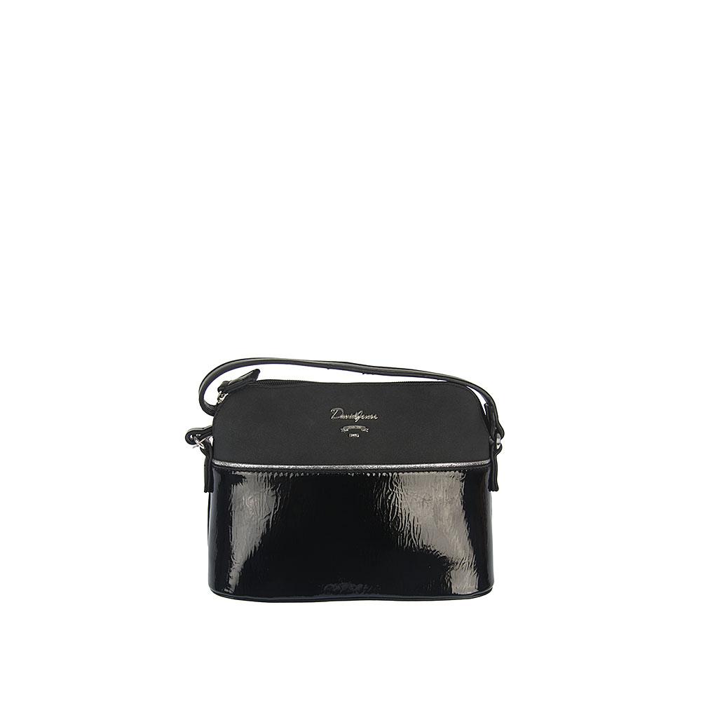 329f94b965 Čierna crossbody kabelka David Jones CM-5930-1-black