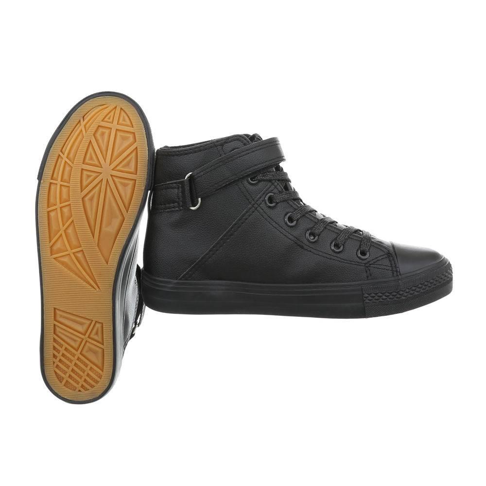789893d2865d5 Čierne kotníkové tenisky TOP-BL80-black