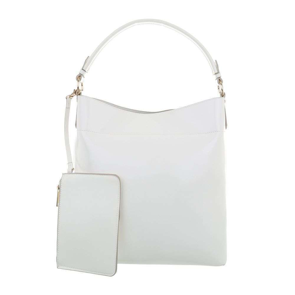 05ccaf0f6f Biela dámska kabelka s kapsičkou VSGL-TA-1735-73-white empty