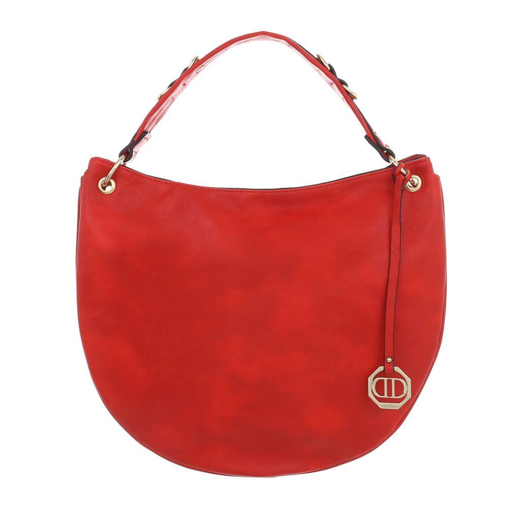a26c777f78 Červená dámska kabelka na rameno VSGL-TA-2635-62-red