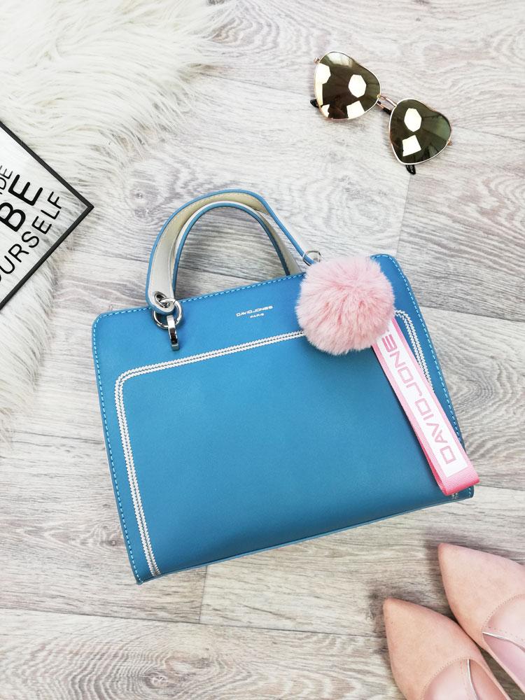 5a1a582ce0 Malá kabelka do ruky David Jones CM-5993-2-turquoise