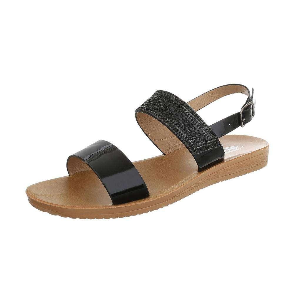 534740c306fa Dámske sandále s kamienkami TOP-D-27-black