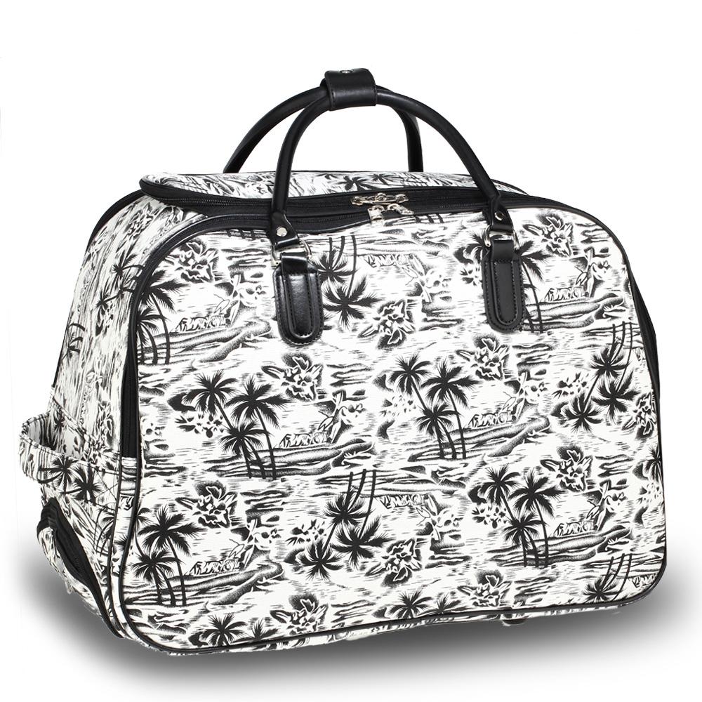 0f0f3a0732 Cestovná taška PALMS AGT1011C-Black White