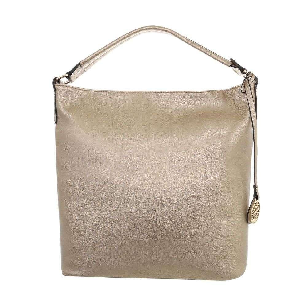 0ca534ebd463 Zlatá dámska kabelka na rameno VSGL-TA-2640-14C-gold