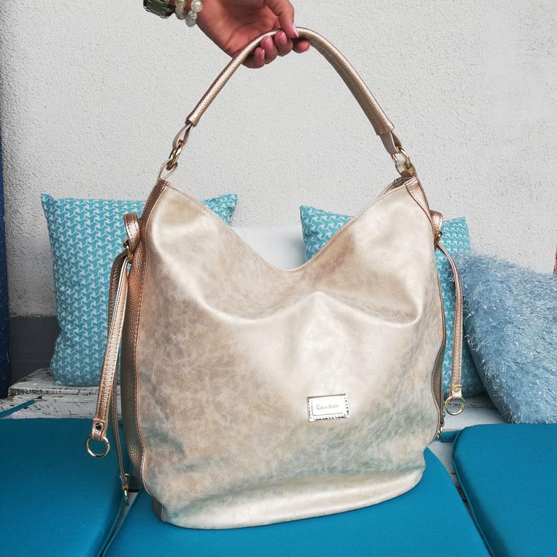 d27635d028fc1 Zlatá kabelka na rameno Carla Berry CB-18074-old