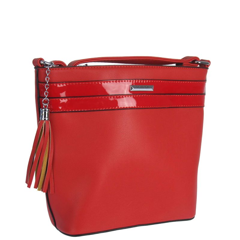 Dámska crossbody kabelka WE-SR6593-red