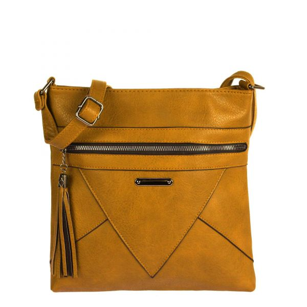 Dámska crossbody kabelka WE-5686-yellow
