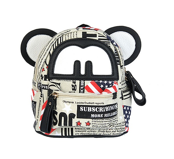 Trendy mini vačik Mickey WE0633-black