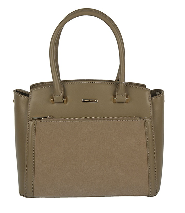 Trendy kabelka do ruky David Jones CM5207-3-camel