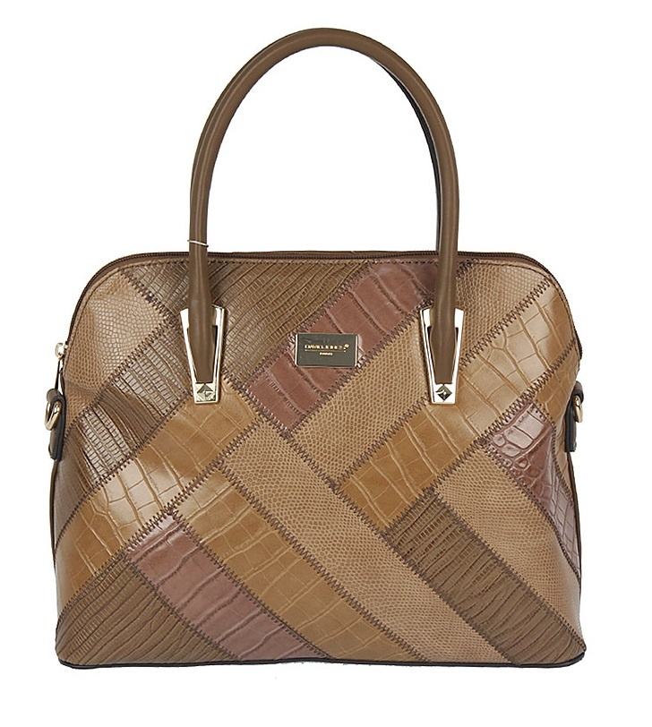 Elegantná kabelka do ruky David Jones CM5206-4-d.camel