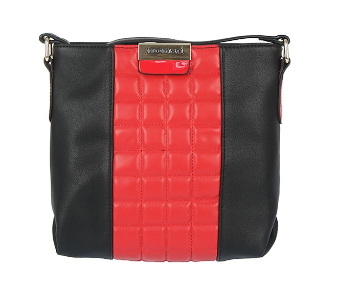Luxusná crossbody MONNARI MON8520-red/black