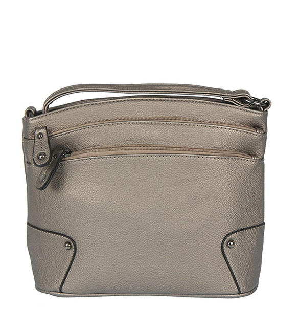 Trendy crossbody WE-V118-bronze