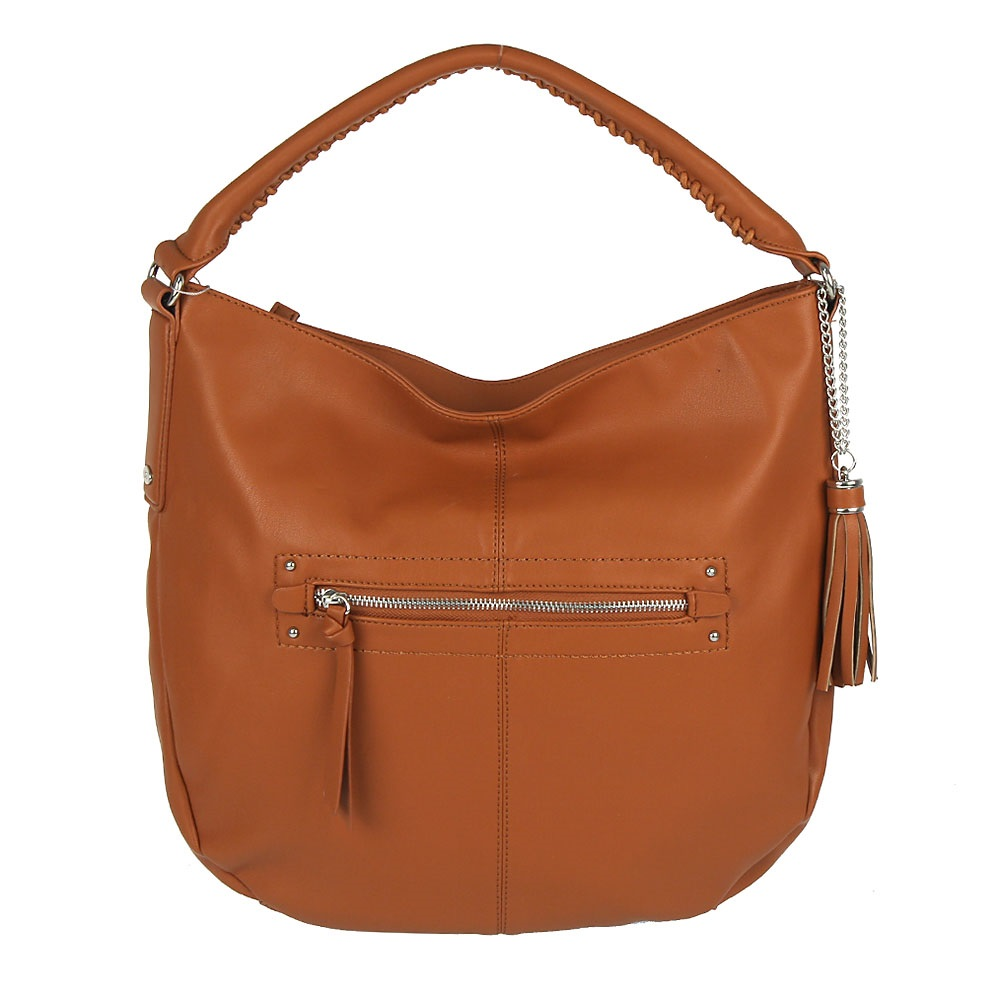 Shopper kabelka David Jones CM-3270-cognac
