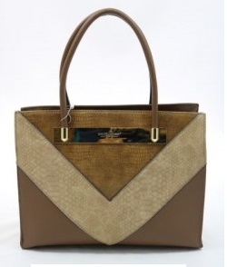 Elegantná kabelka do ruky David Jones CM5222-2-brown
