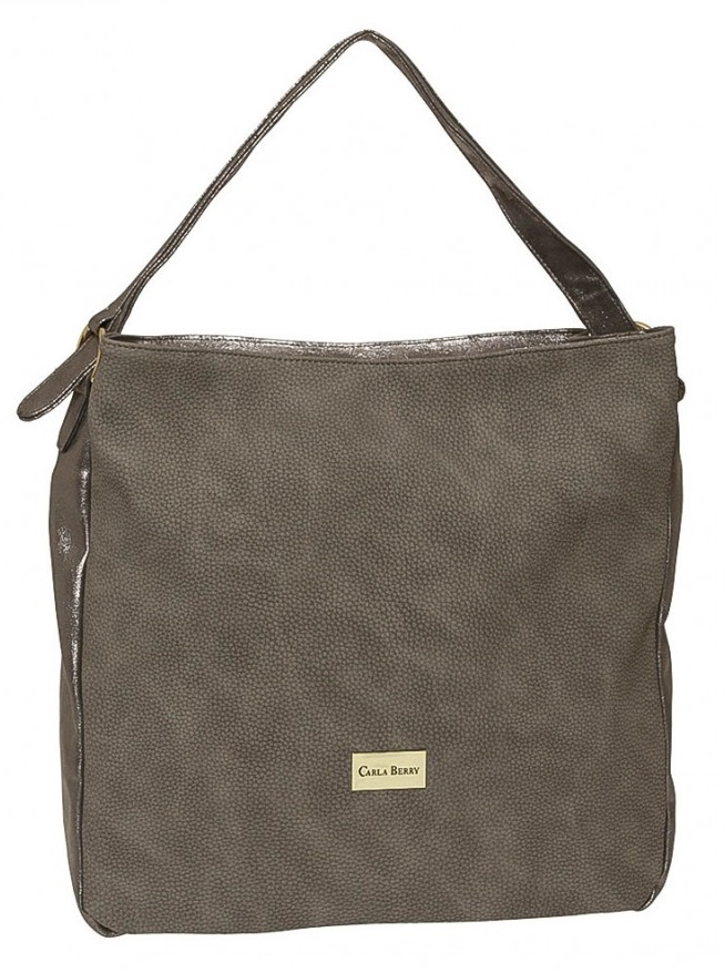Hnedá shopper kabelka Carla Berry CB-1622-brown