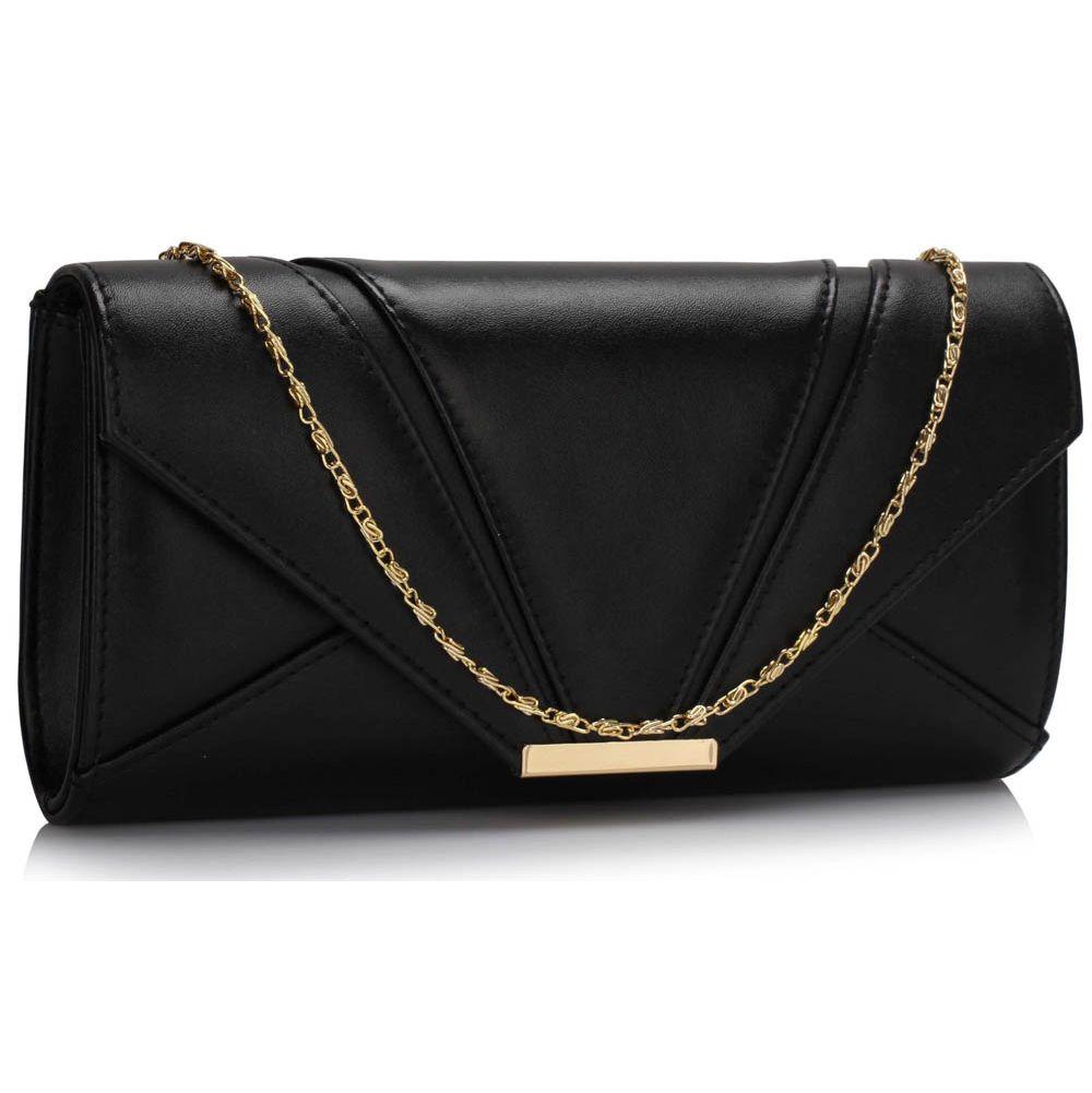 7a06a4552e Čierna večerná kabelka DK00306x-black