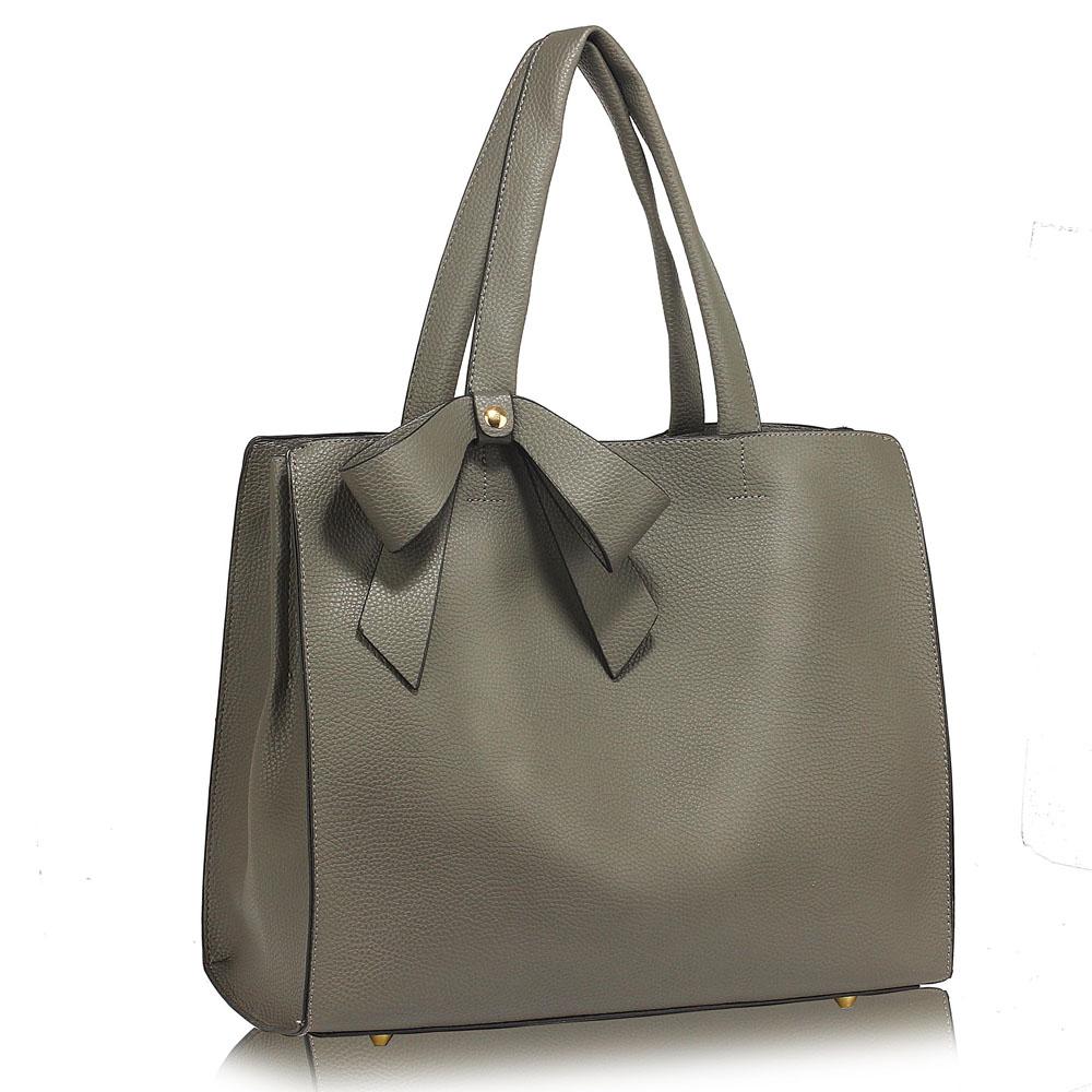 Sivá shopper kabelka na rameno DK00236-grey 2592ce6756c