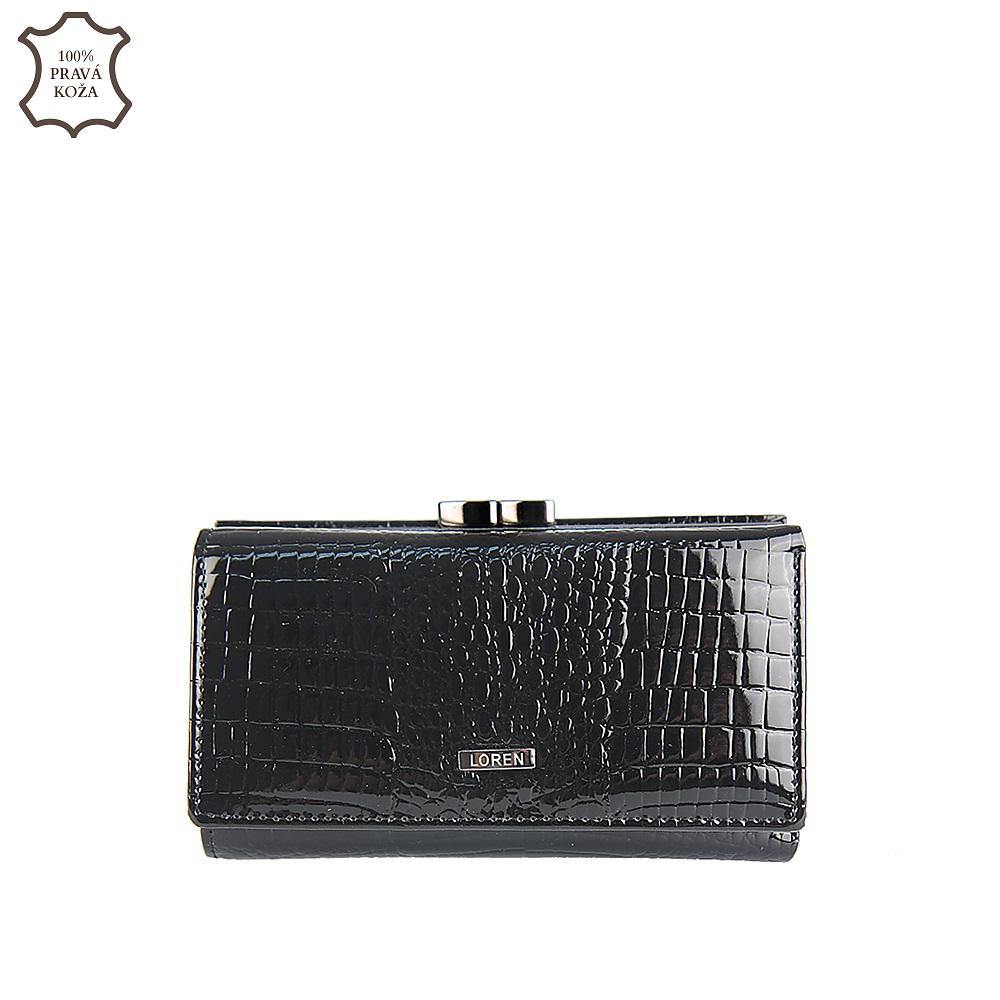 8a85e3bd46 Luxusná kožená peňaženka LORENTI 55020-RS-black